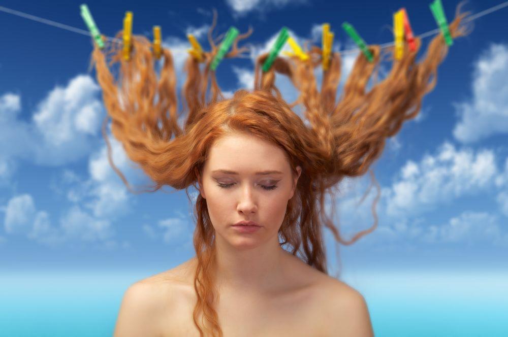 caida estacional estacional del cabello