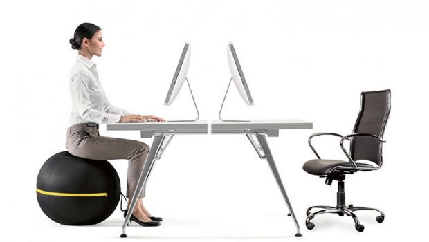 pilates en la oficina