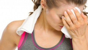 causas del sudor