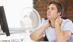 calor en el trabajo 290x166 - Salud, estrés térmico y cambios de temperatura corporal