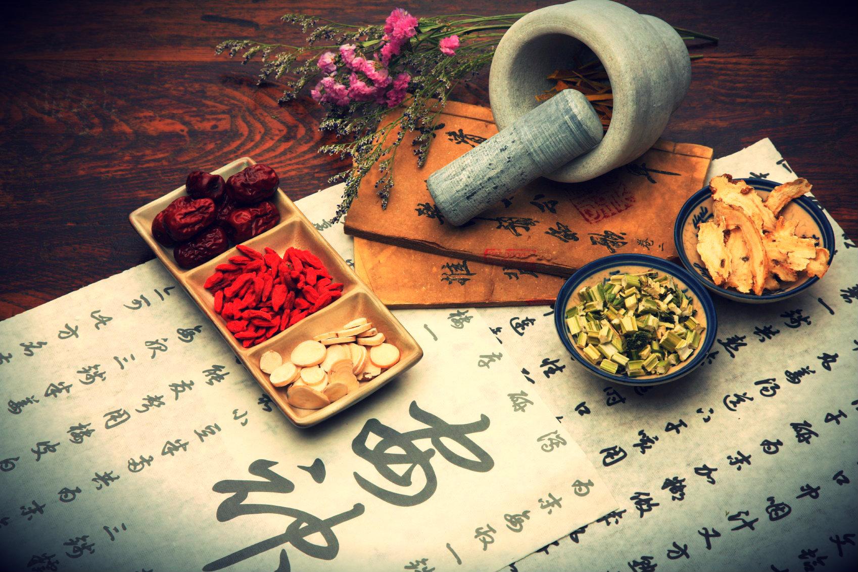 Recetas medicina china