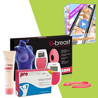 Total Perfection: U-breast + Procurves Plus + Procurves Cream + Breast Performance Gratis