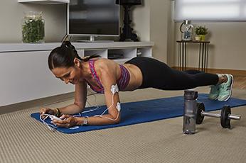 Plancha regular - Ejercicios para abdomen de 10