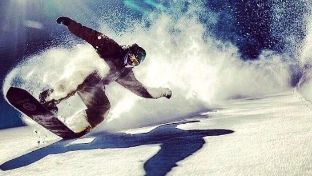 deportes de invierno snowboard