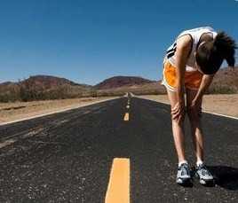 correr en carretera