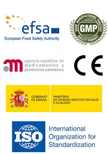 certificados de calidad de Procurves Plus
