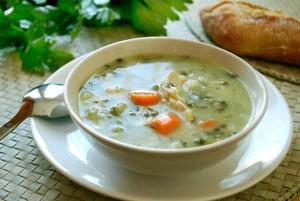sopa de apio resfriado