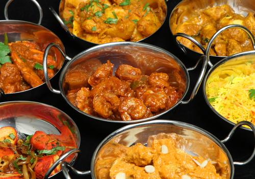 comida picante curry