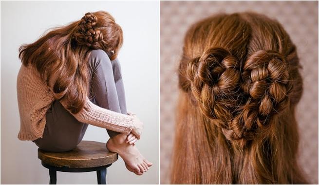 peinado pelo fuerte