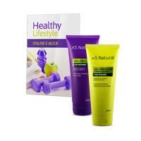 XS Natural Creams, pack reductor y antiestrías para mujer