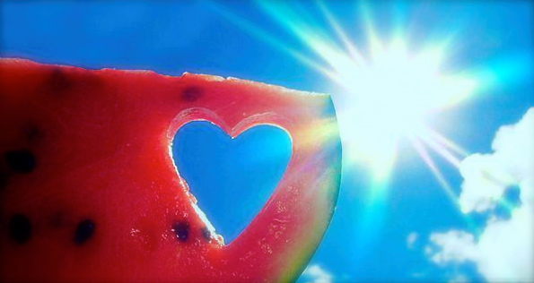 dietas-para-adelgazar-corazón-de-sandía
