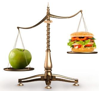 dieta compensación