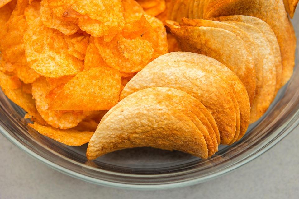 patatas fritas aceite de palma