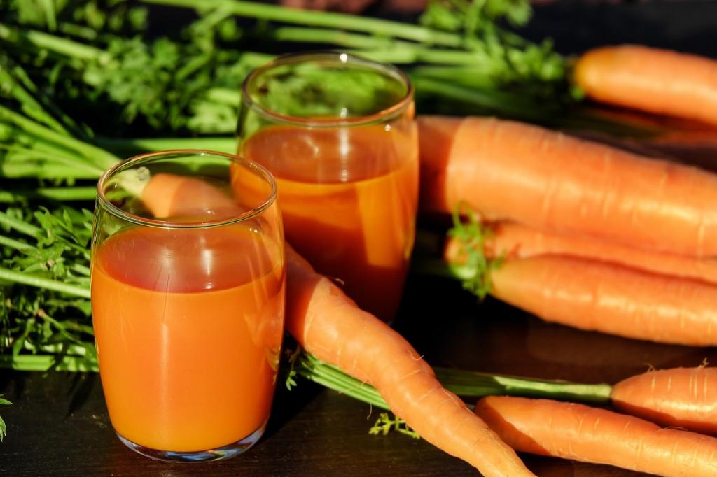 vitamina c-zanahoria-jugo