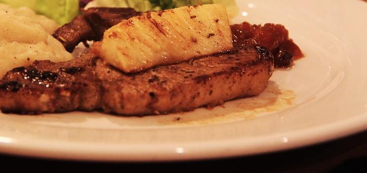 dieta-de-la-piña-receta-carne-piña