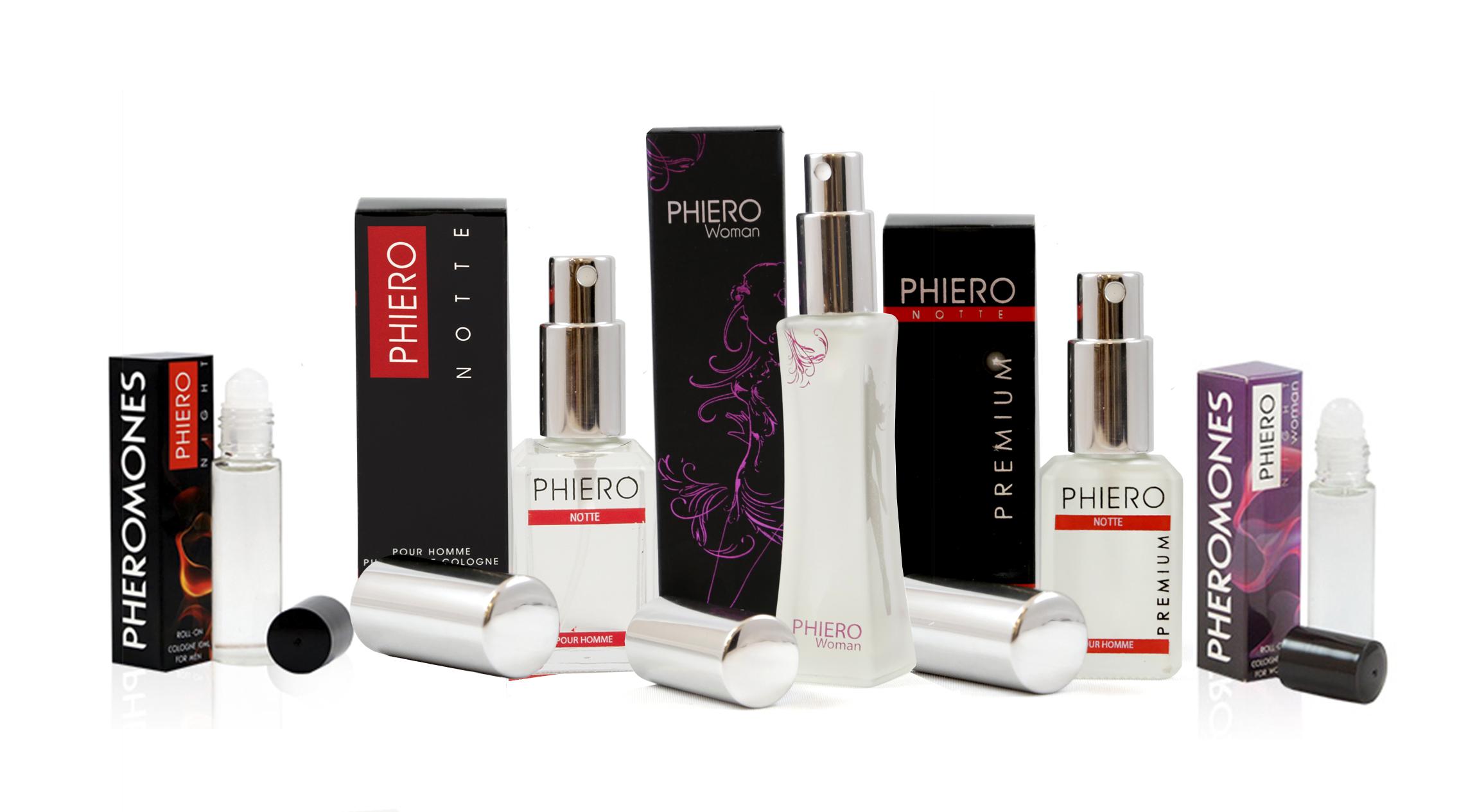 Feromonas para atraer hombres y mujeres con los perfumes de Phiero