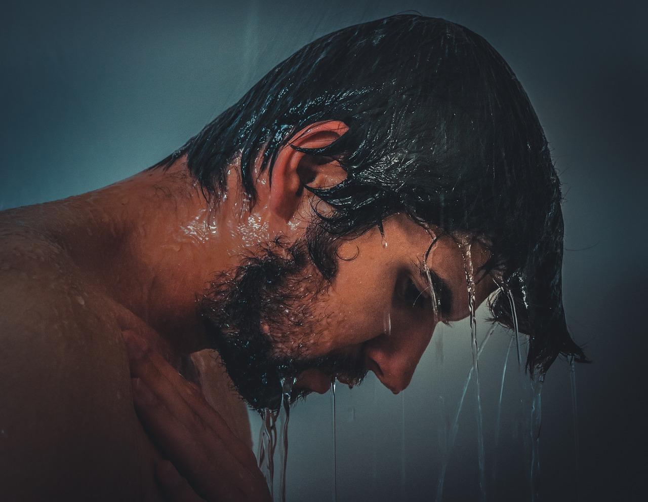 lavado y caída del cabello